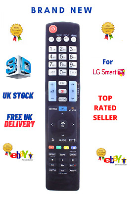 £5.99 • Buy FOR LG TV Remote Control AKB73615362 For 2000-2019 UK LG 3D LCD LED Smart TV'S