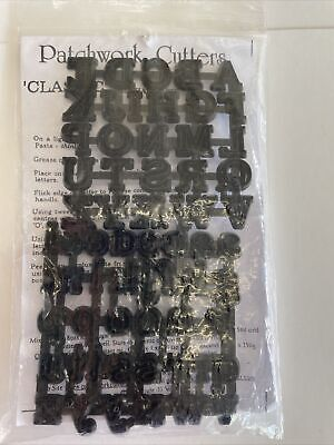 £5 • Buy Patchwork Cutters Classic Alphabet Upper And Lower Case