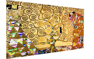 $ CDN77.73 • Buy Framed Gustav Klimt Art Painting Vintage Canvas Tree Of Life 32
