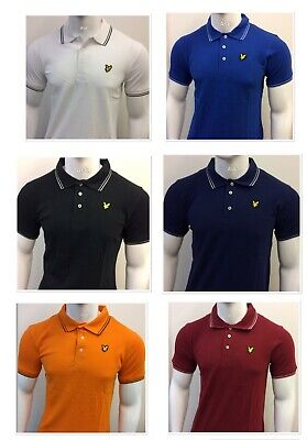 £14.95 • Buy Lyle And Scott Short Sleeve Regular Fit Polo Shirt 100% Cotton