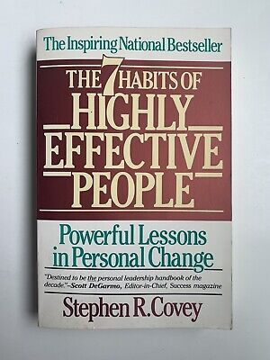 AU6.36 • Buy The 7 Habits Of Highly Effective People - Paperback By Stephen R. Covey