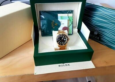 $ CDN69.33 • Buy Rolex Submariner Oyster Wooden Watch Box Wave Watch Duster