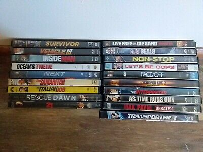 $ CDN27.57 • Buy Lot Of 19 DVDs Movies, Drama Adventure Action
