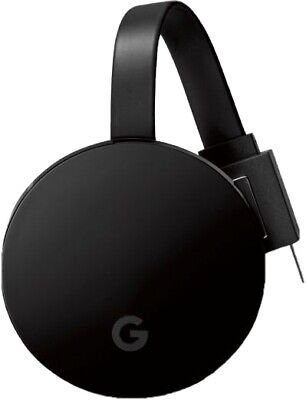 AU55 • Buy Google Chromecast Ultra 4K Digital Media Streamer - Black