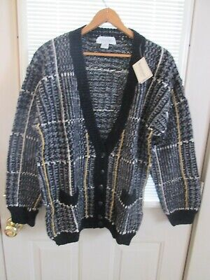 $19.95 • Buy Tricots St. Raphael Mens Button Down Sweater Size Large 100% Pure Virgin Wool