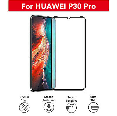 £2.99 • Buy For HUAWEI P30/ P30 Pro/ P30 Lite Tempered Glass Full Screen Protector 3D Curved