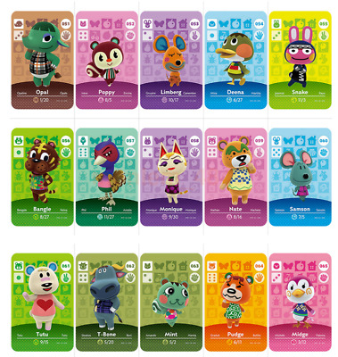 AU9.86 • Buy Animal Crossing Amiibo Card Series 1, 2, 3, 4 Mint Unscanned- Pick Your Card AU