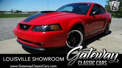 $1000 • Buy 2003 Ford Mustang Mach 1 Red W/Black Stripes 2003 Ford Mustang Mach 1 4.6L V8 F DOHC 32V 5 Speed Manual A