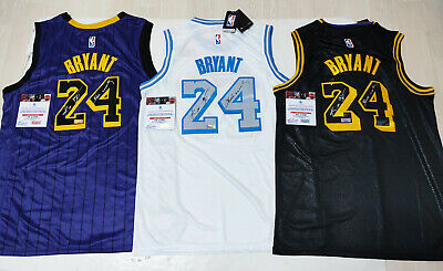 $ CDN1.25 • Buy Los Angeles Lakers #24  Mamba  Autographed 3 Jersey With COA