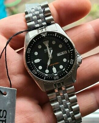 $ CDN682.77 • Buy New Seiko SKX013K2 With Extra Waffle Band - 38mm Automatic Watch