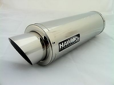 AU364.96 • Buy Yamaha XJR 1300 2007- Stainless Steel Stubby GP Race Exhaust Can, 250mm Long