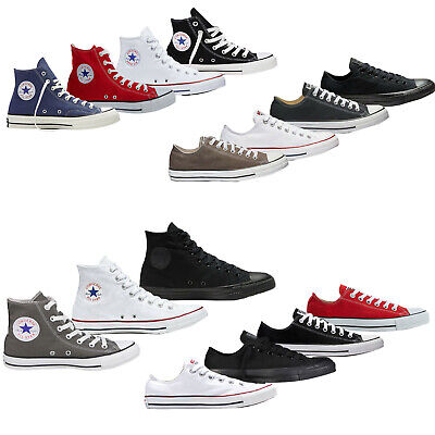 £26.99 • Buy Converse Mens Womens Trainers Low High Tops Chuck Taylor All Star Casual Shoes