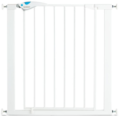 £29.69 • Buy Lindam Easy Fit Plus Deluxe Pressure Fit Safety Gate - 76-82 Cm, White