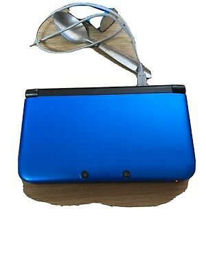 AU56.39 • Buy *New Style* Nintendo 3DS XL: Blue Handheld Console, Stylus, Charger,