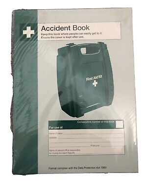 £1.50 • Buy Safety First Aid A4 Accident Report Book (Q3200)