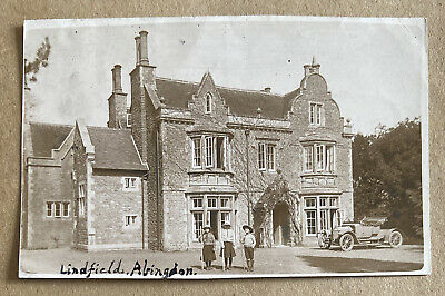 Lindfield Abingdon Berkshire Real Photographic Postcard • 12£