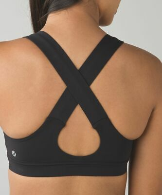 $ CDN24.98 • Buy Sz 4 Lululemon Black All Sports Bra
