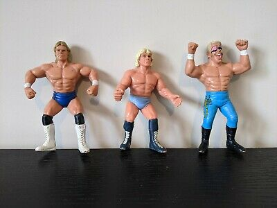 $ CDN25.89 • Buy WCW Galoob Wrestling Figures Bundle Job Lot WWE WWF Ric Flair, Sting & Lex Luger