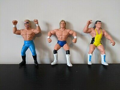 $ CDN25.89 • Buy WCW Galoob Wrestling Figures Bundle Job Lot WWE WWF Lex Luger, Sting & Steiner