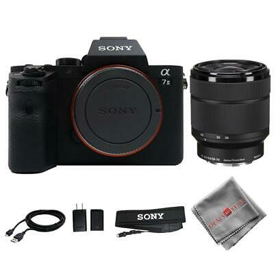 $ CDN1692.87 • Buy Sony Alpha A7 II Digital Camera With FE 28-70mm F/3.5-5.6 Lens