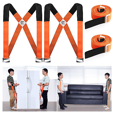 AU32.70 • Buy Appliances Moving Straps Heavy Furniture Rope Belt Transport Lifting System Tool