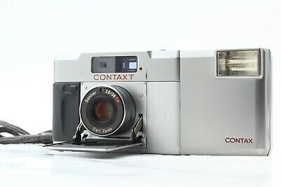 $ CDN599.89 • Buy *OPTICAL Near Mint* CONTAX T Rangefinder 35mm Film Camera T14 Flash From JAPAN