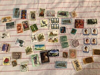AU2.50 • Buy Mixed Vintage Stamps New Zealand