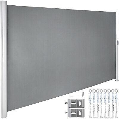 $ CDN127.47 • Buy Retractable Side Awning Patio Screen Retractable Fence 71x118inch Privacy Screen