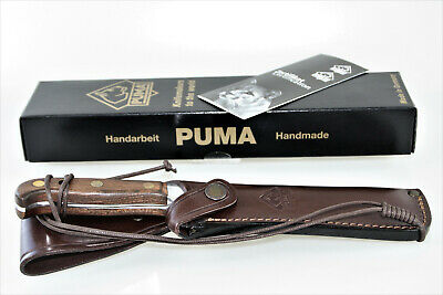AU420.93 • Buy German Puma White Hunter  Automesser  Collectors Knife Included Certif. & Box
