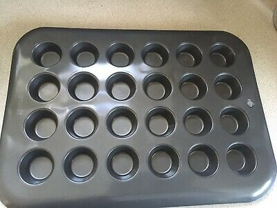 £5.99 • Buy 24 Mini Cheesecake Cup Cake Tray Non Stick Baking Tin By NORPRO Used