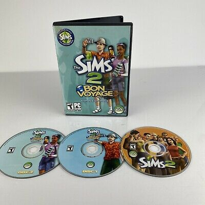 £10.96 • Buy The Sims 2 Bon Voyage PC Game 2007 Expansion Pack - With Sims 2, Disc 2.