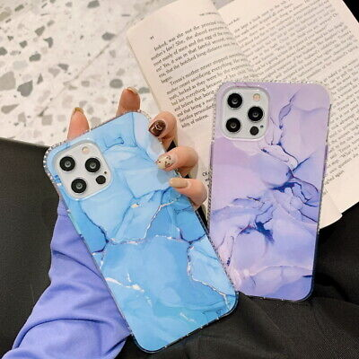 AU5.98 • Buy Case For IPhone 12 11 Pro Max XS XR 7 8 Plus Shockproof Marble TPU Hybrid Cover