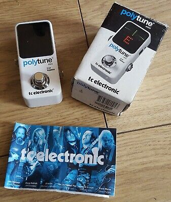 $ CDN43.16 • Buy TC Electronic Polytune Mini Tuner Pedal For Guitar Bass