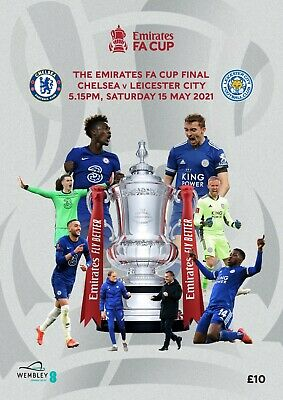 £11.99 • Buy FA CUP FINAL PROGRAMME 2021 Chelsea V Leicester City