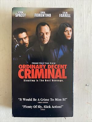 AU16.16 • Buy Ordinary Decent Criminal VHS Kevin Spacey Colin Farrell Crime Comedy Indie Film