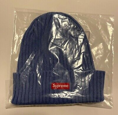 $ CDN64.99 • Buy Authentic Supreme Overdyed Beanie Blue SS21