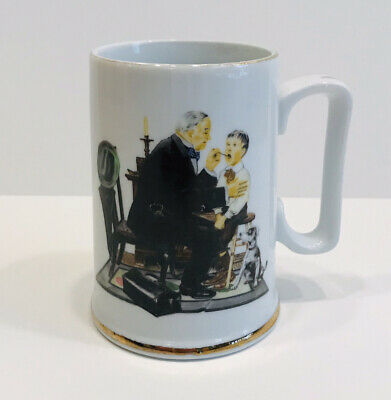 $ CDN6.24 • Buy Vintage Mug, Norman Rockwell The Country Doctor, The Museum 1986, Coffee Cup