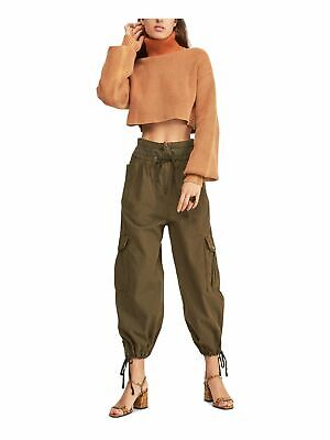 $36.99 • Buy FREE PEOPLE Womens Green Pants Size: 0