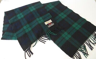 £14.99 • Buy Vintage Men's Aquascutum London Lambswool And Angora Scarf Made In Scotland
