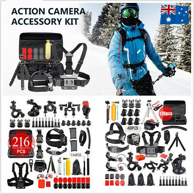 AU33.98 • Buy Storage Carry Bag Case Box Mount Accessories For Gopro Hero CAMERA 4  5 6 7 8 9