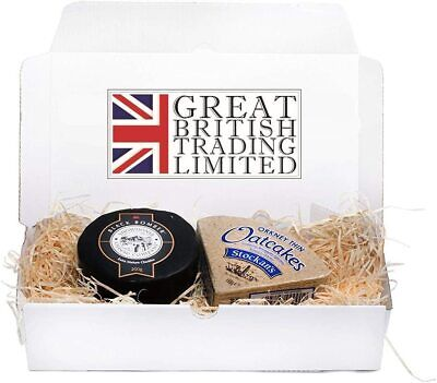 £10.49 • Buy Snowdonia Black Bomber Cheddar Hamper 200g With Stockan's Thin Orkney Oatcakes
