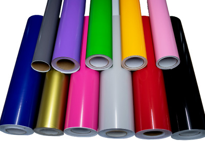 £4.99 • Buy High Gloss Vinyl Sticky Back Plastic Wrap Cupboard/Kitchen Covering Crafts 610mm