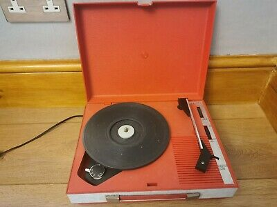 £50 • Buy 1970s Fidelity Vintage Record Player HF42 RED Great Condition