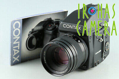 $ CDN5914.24 • Buy Contax 645 + 80mm F/2 Lens + MF-1 + MFB-1 + MFB1A #33379 F1