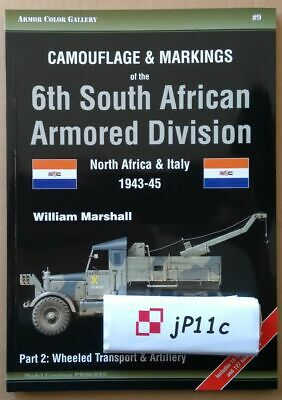£12.36 • Buy Camouflage & Markings Of The 6th South African Armoured Division