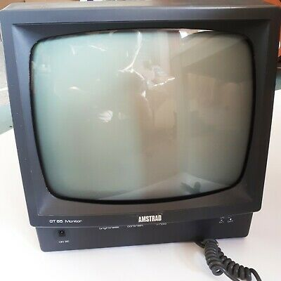 £50 • Buy AMSTRAD CPC 464 / 664 / 6128 GT 65 Green Screen Monitor (full Working Order)
