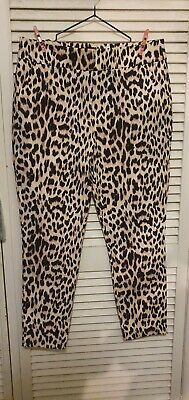 AU39 • Buy Forever New Leopard Print Pants BRAND NEW