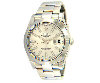 $ CDN10311.78 • Buy 2016 Rolex Datejust II 116300, 41mm, Steel W/ Papers