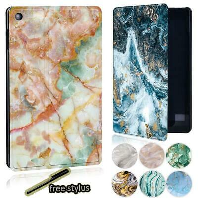 £7.98 • Buy Marble Pattern Leather Stand Cover Case For Amazon Kindle Fire 7  /HD 8  /HD 10