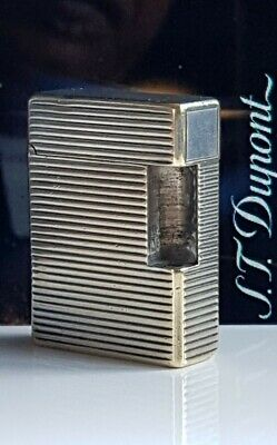 £30 • Buy ST Dupont Lighter Parts Silver Body Part Only Line 1 Small Good Condition SL1